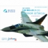 MiG-29 (9-12) 3D-Printed & coloured Interior on decal paper (for GWH kits)