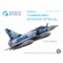Mirage 2000-5 3D-Printed & coloured Interior on decal paper (for Kitty Hawk kit)